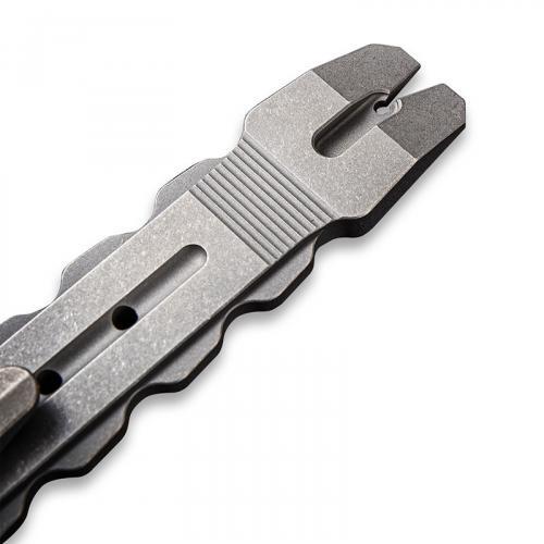 WE Knife Gesila A-08B - Prybar Multitool - Gray Stonewash Ti