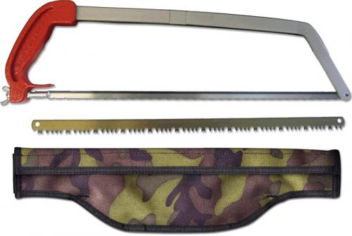 Wyoming Saw II WS-2-CP Take Down Saw with 18 Inch Blades and Camo Nylon Waist Pack USA Made
