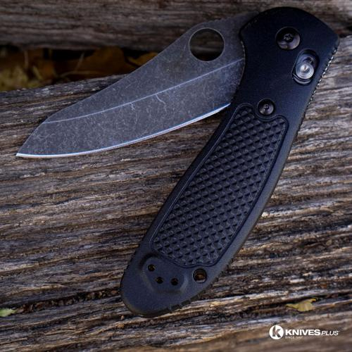 MODIFIED Benchmade Griptilian Knife 550HG - S30V - Acid Stonewash - Sheepsfoot