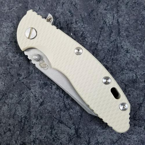 Rick Hinderer XM-18 Fatty Knife 3.5 Inch Wharncliffe Sand G10 Working Finish