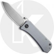 WE Knife Company Banter 2004E - Ben Petersen EDC - Satin S35VN Spear Point - Gray G10 - Liner Lock Folder