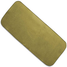 ABKT AB055T Gun Cleaning Mat 28 Inch by 12 Inch Coyote Tan Felt with Neoprene Back