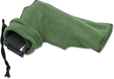 ABKT AB058 Pistol Gun Sock 12 Inch Silicone Treated Olive Drab Knit