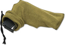 ABKT AB058T Pistol Gun Sock 12 Inch Silicone Treated Coyote Tan Knit