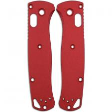 AWT Custom Aluminum Scales for Benchmade Bugout Knife - Red - USA Made