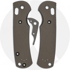 AWT Custom Aluminum Scales for Benchmade Griptilian Knife - Sniper Grey - USA Made
