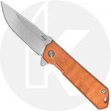 Boker Kihon Assisted Copper 01BO165 - Lucas Burnley EDC - Stonewash D2 Harpoon - Copper - Assisted Flipper Folder