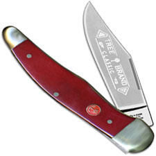 Boker Folding Hunter 111010SRB Limited Smooth Red Bone Handle German Made