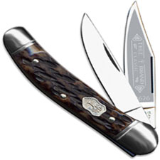 Boker Copperhead 112626AB Carbon Steel Jigged Appaloosa Bone Pocket Knife Made in Germany
