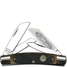 Boker Congress Knife 115464BBL Solingen Carbon Steel Blades Beer Barrel Wood Handle Traditional Pocket Knife