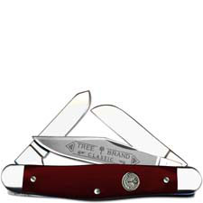 Boker Stockman Limited Smooth Red Bone 117474SRB Traditional Pocket Knife German Made