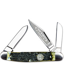 Boker Medium Stockman, Green Bone, BK-7588