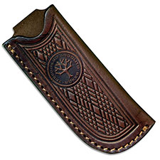 Boker Pocket Knife Sheath, Brown Leather, BK-94525