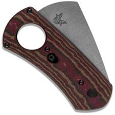 Benchmade Cigar Cutter 1500 - Satin S30V Guillotine Blade - Richlite - Auto AXIS - USA Made