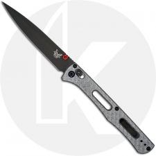 Benchmade Fact 417GY-1901 - 2019 Shot Show Limited Edition - Serial Number BNIB - Gray PVD S30V - Silver Twill G10 - USA Made
