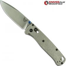 Benchmade Bugout 535 Knife & Flytanium Titanium Scales - Installed FREE