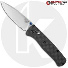 Benchmade Bugout 535 Knife & Flytanium Carbon Fiber Scales - Installed FREE