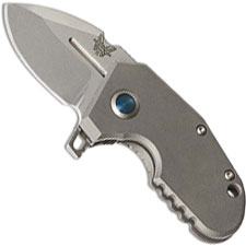 Benchmade 756 Sibert mPR™ Micro Pocket Rocket 20CV Titanium Monolock Flipper Folder USA Made