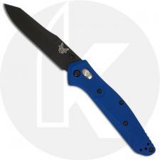 Benchmade Osborne 940BK-2002 - Limited Edition 20th Anniversary - BNIB - Black DLC 20CV - Blue G10