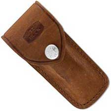 Buck 112 Ranger Distressed Brown Leather Sheath Only, BU-112DBS