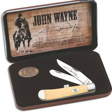 Case John Wayne Trapper Set, Smooth Cream Synthetic, CA-10688