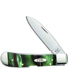 Case Tribal Lock Knife 18528 Jungle Green Camo Kirinite TB1012010LSS
