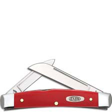 Case Medium Congress Knife 22802 Limited Smooth Red Synthetic 42052SS
