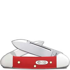 Case Baby Butterbean Knife 22804 Limited Smooth Red Synthetic 42132SS
