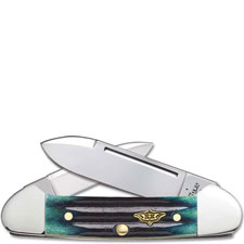 Case Baby Butterbean 30953 Knife Hunter Green Bone 62132SS