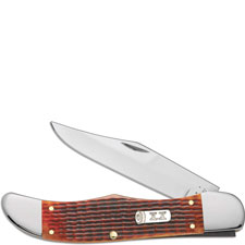 Case Folding Hunter, Autumn Harvest Bone, CA-33504