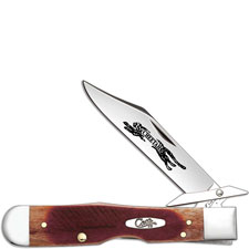 Case Cheetah Knife, Sawcut Caramel Bone, CA-33982