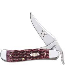 Case RussLock Knife 47526 Cabernet Bone 61953LSS