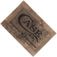 Case 50240 Case Wooden Sign