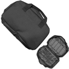 ABKT MI050 Knife Carrying Case Black Nylon Soft Side Case Holds up to 22 Folding Knives