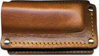 Cattleman Side Draw Sheath, Brown, CC-MI25
