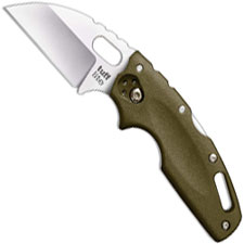 Cold Steel Tuff Lite 20LTG Knife EDC Wharncliffe OD Green Griv-Ex Locking Folder