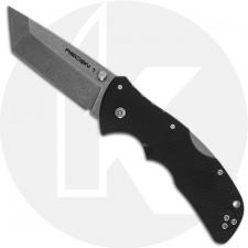Cold Steel Mini Recon 1 27BAT - Compact EDC - Stonewash AUS 10A Tanto - Black GRN - Folding Knife