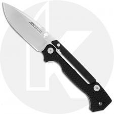 Cold Steel AD-15 Lite 58SQL - AUS 10A Drop Point - Black Griv-Ex - Scorpion Lock - Folding Knife