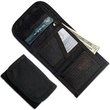 ESEE Knives EDC Wallet - Black Tri-Fold Cordura