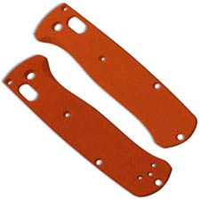Flytanium Custom G10 Scales for Benchmade Bugout Knife - Orange