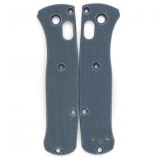 Flytanium Custom G10 Scales for Benchmade Mini Bugout Knife - Slate Blue