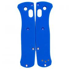 Flytanium Custom G10 Scales for Benchmade Mini Bugout Knife - Blue