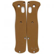 Flytanium Custom G10 Scales for Benchmade Bugout Knife - Tan