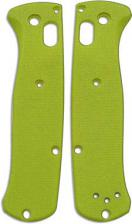 Flytanium Custom G10 Scales for Benchmade Bugout Knife - Lime Green
