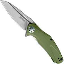 Kershaw 7007OL Natrix Limited Stonewash Drop Point Olive G10 EDC Assisted Flipper Folder