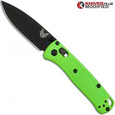 MODIFIED Benchmade Mini Bugout Zombie 533BK-1 Knife - Black Blade - Rit Dyed Handle