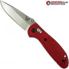 MODIFIED Benchmade Mini Griptilian Knife - The Red Dragon - Satin