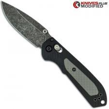 MODIFIED Benchmade Mini Freek Knife 565 - Acid Stonewash Blade