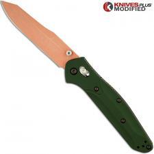 MODIFIED Benchmade 940 Osborne Knife - CopperWash - Aluminum Handle