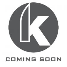 We Knife Company 618D EDC Frame Lock Folding Knife Satin Blade Gray Titanium Handle